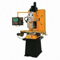 China CNC drilling and milling machine with limit switch for all 3 axes on sale