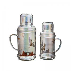 Wholesale OEM ODM Luxury Glass Cooling Water Bottle 34 Oz Magic Color from china suppliers