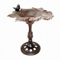 Wholesale Bird Bath, Made of Cast Iron, Ideal for Garden Decorations from china suppliers