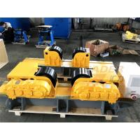 Buy cheap 30 Ton Bolt Shift Adjustment Self Centering Welding Rotator Inverter Control from wholesalers