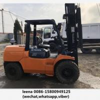 Wholesale Japan Made Toyota 5ton Used Diesel Forklift Truck 7fd50 With Side Shift from china suppliers