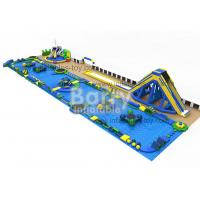 Wholesale Open Water Game Inflatable Water Sport Park Challenge With 0.9mm PVC Tarpaulin from china suppliers