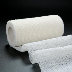 China First Aid Elastic Medical Bandage Tape ,  Self Adhesive Medical Bandage on sale