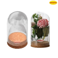 Wholesale Hand Blown Borosilicate Eternal Life Flower Glass Cover from china suppliers