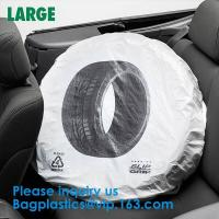 Wholesale Tire Storage Bags Car Plastic Tire Bags For Automotive Interior Protection, Auto Repair Shops Tire Covers For Wheel from china suppliers
