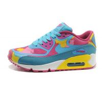 Wholesale Nike Air Max 90 Tape Sky Blue Pink Womens Shoes from china suppliers