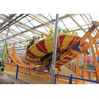 Wholesale Frp Material Amusement Park Machines , Thrilling Flying Ufo Disko Rides from china suppliers