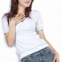 Wholesale Women's Organic Short Sleeved Tee from china suppliers