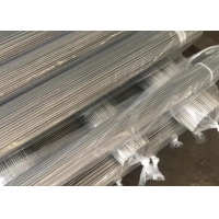 UNS Schedule 80 Metal Water Pipe 10mm Outer Diameter Satin Finished