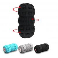Wholesale Relaxed Vibration Foam Roller Foam Roller Shoulder Massage 3 Parts Unique Design from china suppliers