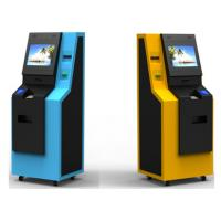 Buy cheap Subway Recycling Kiosk Coin and Cash ATM Machine With Fan Fold Printer Thermal from wholesalers