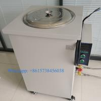 China 50L Laboratory Digital Display Water Baths Micro Electric-heated Thermostat Controlled Circulating Oil Bath for Test on sale