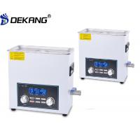 Wholesale 480W White Bench Top Ultrasonic Cleaner , LCD Screen Ultrasonic Surgical Instrument Cleaner from china suppliers