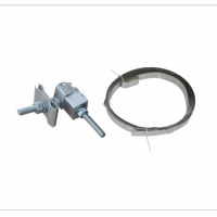 Wholesale Elector - Insulating Rubber Type Down Lead Clamp For Fixation Of OPGW And ADSS Onto  Pole / Tower from china suppliers