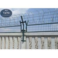 Wholesale Military Field Silver Razor Blade Wire Fence 450mm 500mm Outside Diameter from china suppliers