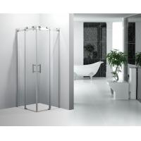 Wholesale Modern Square Corner Bath Shower Enclosure Sliding Door For Both Sides from china suppliers