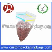 Buy cheap LDPE Double Seal Reclosable Plastic Zipplock Bags , LDPE/HDPE Packaging Bag from wholesalers