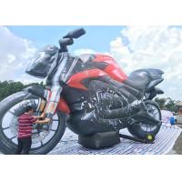 Buy cheap PVC Custom Advertising Inflatables Motorbike Air Inflated Character Balloon for Decoration from wholesalers