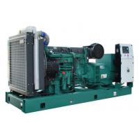 China 500kw 50hz Volvo Open Type Diesel Generator Soundproof With AMF / ATS on sale