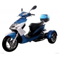Wholesale CDI Ignition 50cc Elf Trike Moped Tri Wheel Motorcycle from china suppliers