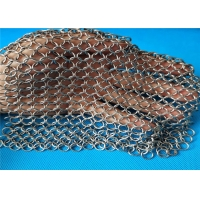 Wholesale Kitchen Chainmail Cast Iron Cleaner Scrubber For Kit Bright from china suppliers