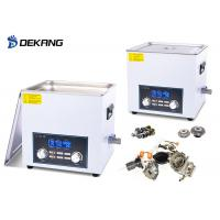 Wholesale 0-180W 6.5 Liter Benchtop Ultrasonic Cleaner 28/40KHz With Degas / Sweep Function from china suppliers
