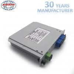 Wholesale Fiber Optic 1x4 SC / UPC Insert Type PLC Splitter Casette Type Mini Box from china suppliers