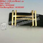 XF new leather strap camera for poker analyzer
