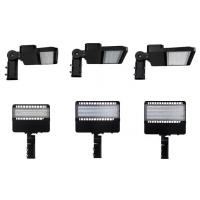 Wholesale AC 100 - 277V LED Parking Lot Lights , High Efficiency LED Shoe Box Lights from china suppliers
