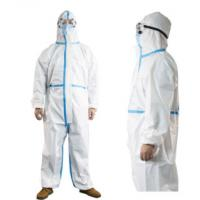 Wholesale Antivirus Medical Coverall Suit Microporous Breathable PP+PE Membrane Skin Friendly from china suppliers
