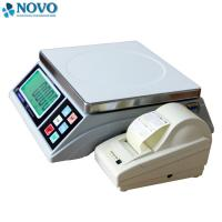 Wholesale label printing igital Weighing Scale 15kg 30kg for fruits in Supermarket from china suppliers