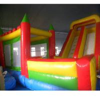 Wholesale Commercial Kids Inflatable Jumping Castle Inflatable Jumping Bouncy Houses With Slide from china suppliers