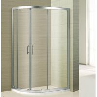 Buy cheap 6MM hot sale economic shower room shower cabin sliding doors aluminium shower from wholesalers