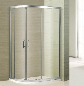 Buy cheap 6MM hot sale economic shower room shower cabin sliding doors aluminium shower room cabin from wholesalers