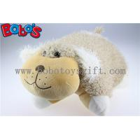 Wholesale Throw Pillows Soft Plush Stuffed Dog Outdoor Cushions from china suppliers