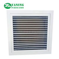 Wholesale Aluminum Alloy Air Filter Grille Air Duct Diffuser With Nylon Mesh Primary Filter from china suppliers