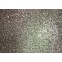 Bedroom Wallpaper PU Material Silver Glitter Fabric For Living Room Home Decor