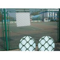 Wholesale 50x50mm Basketball Ground Sports Pvc Diamond Mesh Fencing from china suppliers