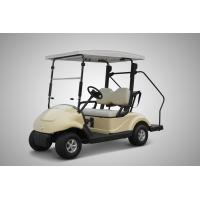 Wholesale Pure Electric 2 Seater Electrical Golf Carts 4 Wheel With Solar Panel Roof 300w from china suppliers