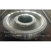 China EN JIS ASTM AISI BS DIN Forged Wheel Blanks Parts Grinding Wheel Helical Ring Gear Wheel on sale