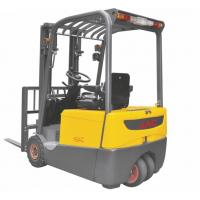 Smaller Turning Radius Electric Powered Forklift 1.8 Ton Three Wheel For Warehouse