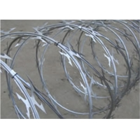 Wholesale Dia 600mm On Ships BTO-12 Razor Wire Concertina For Anti Piracy from china suppliers