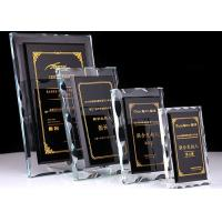 Buy cheap Crystal Glass Awards Crystal Trophy Cup Black Crystal Matching With White from wholesalers