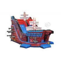 China Galleon Style Commercial Grade Inflatable Water Slide For Adults / Children on sale