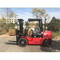 3000kg Capacity Diesel Forklift Truck Automatic Transmission 3m Lifting Height