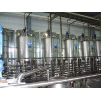 Wholesale Gravity High Level Stainless Steel Tank For Milk Dairy Yogurt Plant from china suppliers