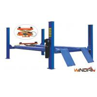 China 2.2kw Garage Car Lift , 4 Post Car Lifts For Four Wheel Alignment WD440D on sale