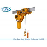 Wholesale Super Low Type Electric Chain Hoist 380V / 220V Voltage Lifting Height 3 - 10m from china suppliers