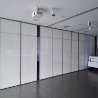 Buy cheap Movable Office Wooden Profiles Aluminum Sliding Wall Partitions for Ballroom from wholesalers