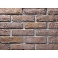 Wholesale Decoration Wall Thin Veneer Brick , Antique Texture Fire Clay Bricks For Building from china suppliers